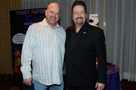 Terry Fator and Rick Harrison